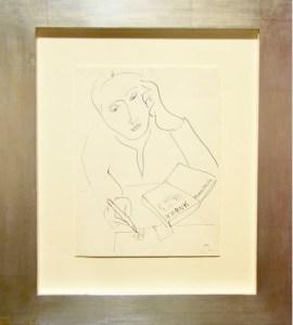 Matisse. Femme a l'agenda, 1944