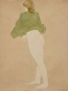 Rodin. Femme de dos, 1900