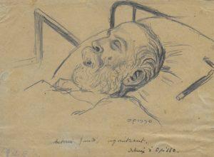 Opisso. Gaudi agonitzant, 1926
