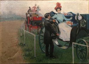 Utrillo. Arribada a l' Hipòdrom, 1899
