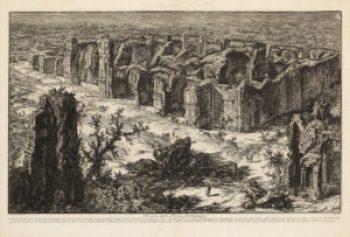 Piranesi. Rovine delle Terme Antoniniane, 1765