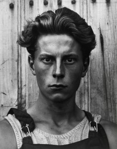 Strand. Young Boy, Gondeville, 1951