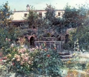 E. Meifrén. El sortidor del monestir, 1912