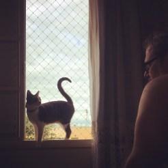 'Bom dia, papai'