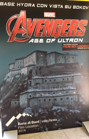 No caminho visitamos o Castelo de Bardi, onde foi filmado Vingadores - Era de Ultron