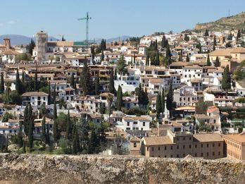 Granada vista do Mirante de San Nicolás