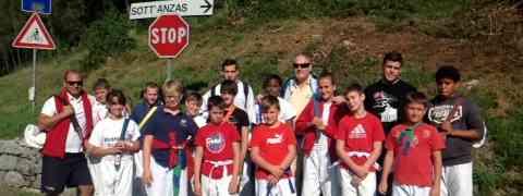 Prosegue l'avventura dei nostri judoka al ritiro ad Andreis oggi seconda giornata.