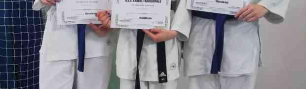 Karate tradizionale, Campionato Provinciale Venezia. Tre medaglie per la Polisportiva Villanova