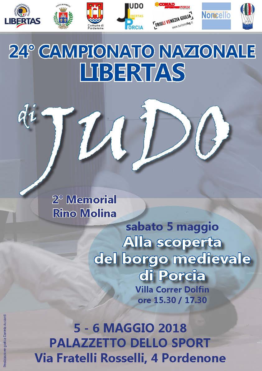 24° Campionato Nazionale Libertas di Judo