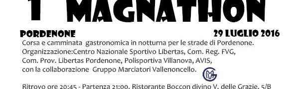 Magnathon: Arriva la corsa che fa tappa nei migliori locali di Pordenone