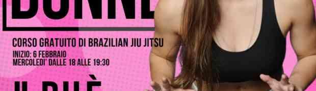 BJJ solo per donne. Il nuovo corso gratuito al Palazen
