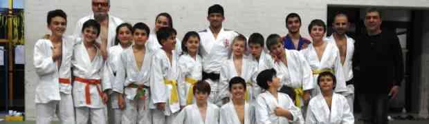 Emozionante allenamento con il campione olimpico Shavdatuashvili