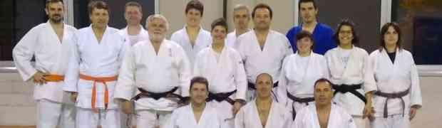 Prepararsi alla cintura nera con la campionessa europea Sato e il maestro Luchini