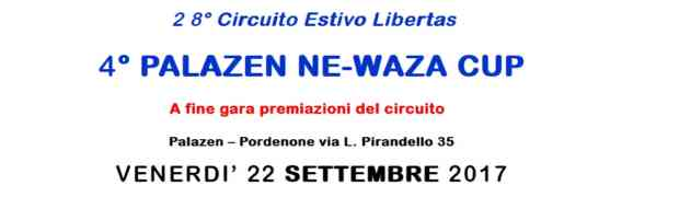 Torna il Palazen Ne-Waza Cup
