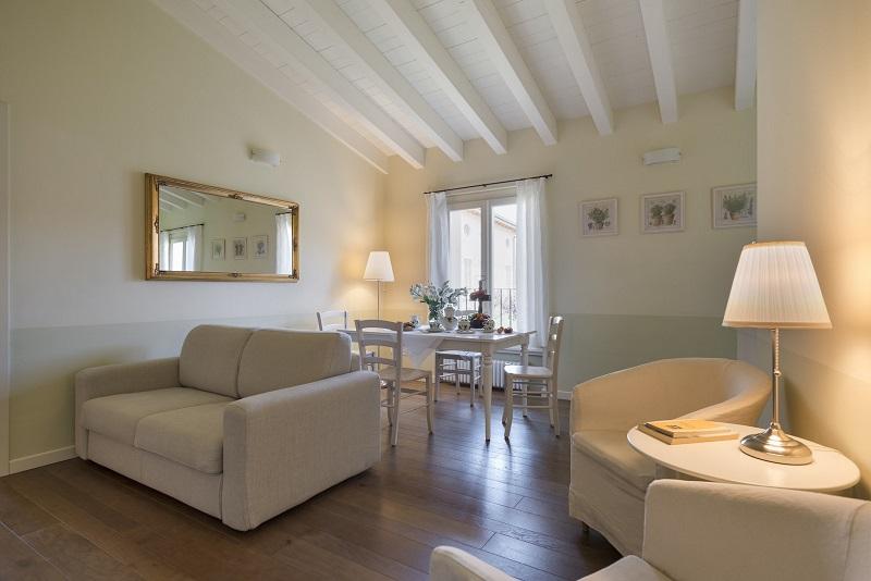 Bilocale Apartment 2-Zimmer-Ferienwohnung ferienwohnung-6d -Salon
