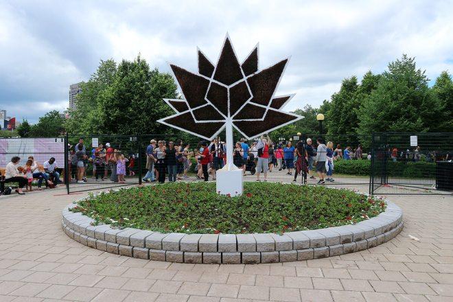 MOSAÏCANADA 150 / Gatineau 2017 / Jacques Cartier Park / Kanada