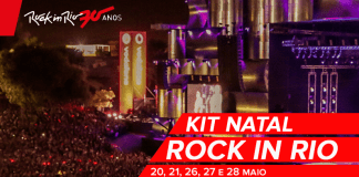 Rock in Rio- Kit Natal