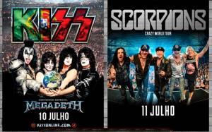 Kiss e Megadeth @ Estádio Municipal de Oeiras | Oeiras | Lisboa | Portugal