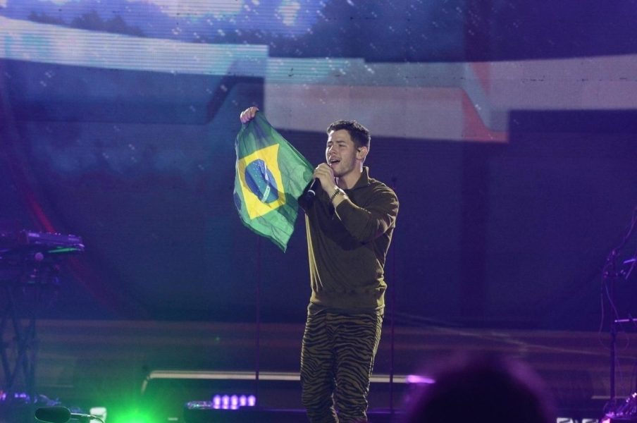Nick Jonas apresenta sucessos no VillaMix Goiânia