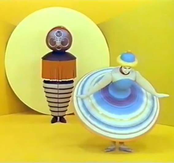 The Village Hall and The Triadic Ballet
