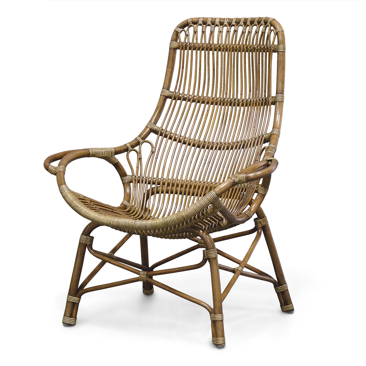 High Back Lounge Chair Palecek