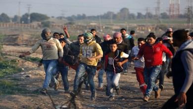صورة الاحتلال يعتدي على مسيرات العودة شرق غزة وارتقاء شهيد