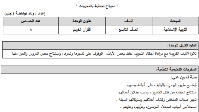 Photo of التحضير بالنظام الجديد لكامل مبحث الدراسات الاجتماعية تاسع الفصل الأول
