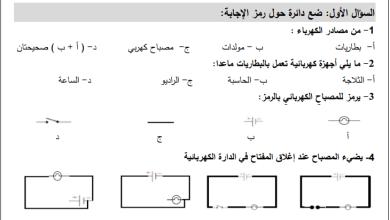 Photo of أوراق عمل رائعة وشاملة لوحدة الكهرباء المغناطيسية لعلوم رابع الفصل الأول