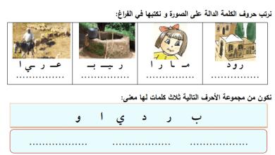 Photo of المراجعة النهائية والرائعة لكامل مبحث اللغة العربية الصف الأول الفصل الأول