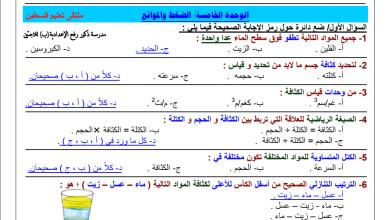 Photo of مجمع المراجعات النهائية الهامة والمجابة لكافة مواد الصف السابع للفصل الثاني