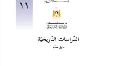 Photo of دليل المعلم الفلسطيني لتنفيذ منهاج الدراسات التاريخية للحادي عشر أدبي