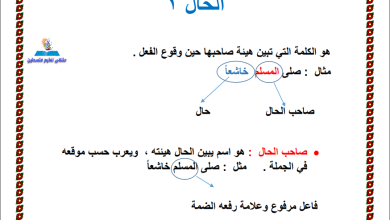 Photo of المراجعة النهائية الرائعة والمجابة لقواعد اللغة العربية للصف العاشر الفصل الأول