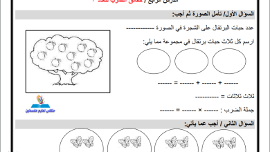 Photo of ورقة عمل رائعة جدا لحقائق ضرب العدد 3 لمبحث الرياضيات للصف الثاني الفصل الثاني