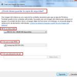 Windows 7: Imágenes del Sistema – Crear imagen