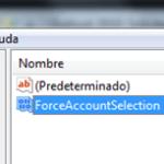 Outlook 2010: Solicitar SIEMPRE la cuenta para enviar