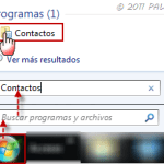 Outlook: importar contactos desde formato WAB en Windows 7