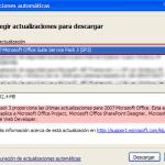 Office 2007: disponible el Service Pack 3 (SP3)