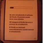 Kindle4: actualización de la versión de software