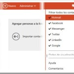 Outlook.com (Hotmail): Gestión de contactos