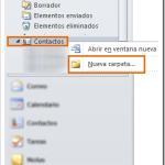 Outlook 2010 – Importar contactos desde un PST exportado