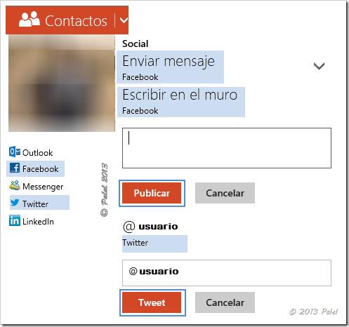 Contactos - Mensajería 1