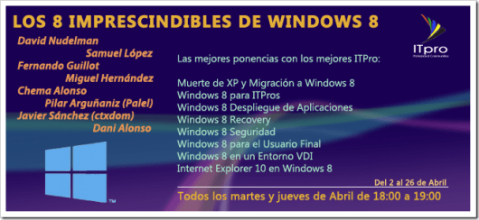 Los 8 imprescindibles de Windows 8