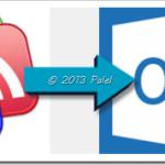 Importar las fuentes RSS OPML/XML desde Google Reader a Outlook