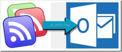 Fuentes RSS en Outlook 1