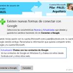 Outlook.com | Actualización: Chatear con los contactos de Google/Gmail