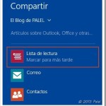 Windows 8.1 Preview | Lista de lectura, una nueva aplicación y compartir