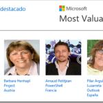 Microsoft y el MVP destacado del mes