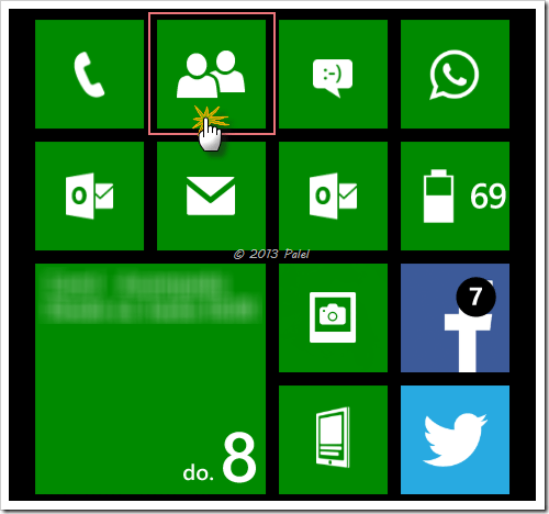 Windows Phone - Hub YO