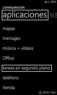 Imagen 4 - Windows Phone: tareas en segundo plano