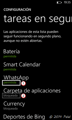 Imagen 5 - Windows Phone: tareas en segundo plano
